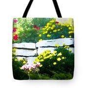 The Garden Wall Tote Bag