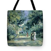 The Gardens In Montmartre Tote Bag