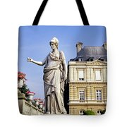 The Gardens Of Luxembourg Palace, Paris Tote Bag