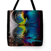 The Gate Across The Water Tote Bag