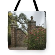 The Gate At Boone Hall Tote Bag