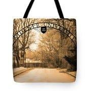 The Gate At Widener University Tote Bag
