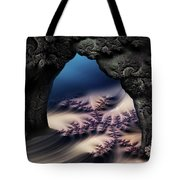 The Gate In The Grotto Tote Bag