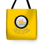 The Gates By Christos In Central Park Tote Bag