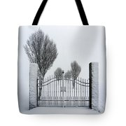 The Gates To Nowhere Tote Bag