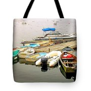 The Gathering At Southwest Harbor Tote Bag