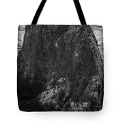 The Gathering- Bw Tote Bag