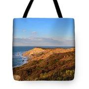 The Gay Head Cliffs In Autumn Tote Bag