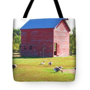 The Geese Are Out Tote Bag