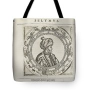The General Historie Of The Turkes Tote Bag