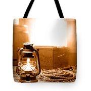 The General Store Backroom - Sepia Tote Bag