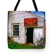 The General Store Painted Tote Bag