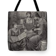 The Gentle Music Of The Bygone Day Tote Bag