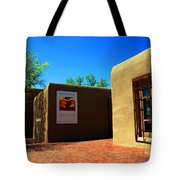 The Georgia O'keeffe Museum In Santa Fe Tote Bag
