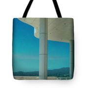 The Getty Panel 2 Of Triptyck Tote Bag
