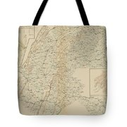 The Gettysburg Campaign - American Civil War Tote Bag