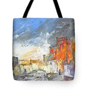 The Ghost Of Religion In Spain Tote Bag