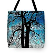 The Ghostly Tree Tote Bag