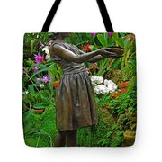 The Girl Among Orchids Tote Bag