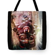 The Girl Behind The Door Haunting Tote Bag