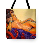 The Girl From Ipanima Tote Bag