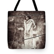 The Girl In The Bubble Tote Bag