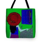 The Girl In The Mirror Tote Bag