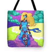 The Girl Series 03 - The Prettiest Girl Tote Bag