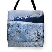 The Glacier Advances Tote Bag