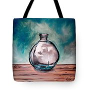 The Glass Bottle Tote Bag