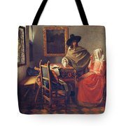 The Glass Of Wine Tote Bag