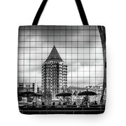 The Glass Windows Of The Market Hall In Rotterdam Tote Bag