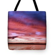 The Gloaming Of Lac Vieux Desert Tote Bag