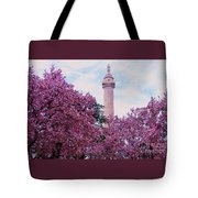 The Glory Of Spring In Mount Vernon Place, Baltimore Tote Bag
