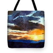 The Glory Of The Sunset Tote Bag
