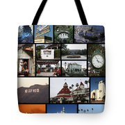 The Glow Of Southern California Tote Bag