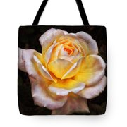 The Glowing Rose Tote Bag