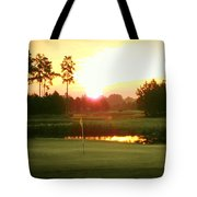 The Goal's In Sight Tote Bag