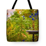 The Gods Look On Tote Bag