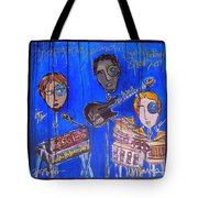 The Gogolab Painted Live  Tote Bag