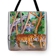 The Gold Of The Tigers Tote Bag
