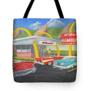 The Golden Age Of The Golden Arches Tote Bag