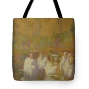 The Golden Baptism Tote Bag