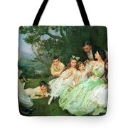 The Golden Butterfly. The Harvey Family Tote Bag