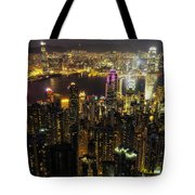 The Golden City Tote Bag