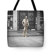 The Golden Cowboy Tote Bag