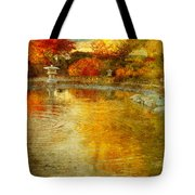 The Golden Dreams Of Autumn Tote Bag