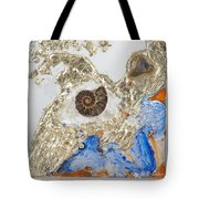 The Golden Flow Of Expansion Tote Bag