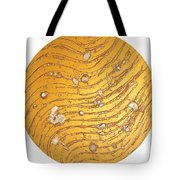 The Golden Flow Of Self-worth Tote Bag
