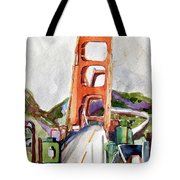 The Golden Gate Bridge San Francisco Tote Bag
